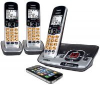 UNIDEN DECT 3136BT+2 CORDLESS BLUETOOTH PHONE 3 HANDSETS PACK