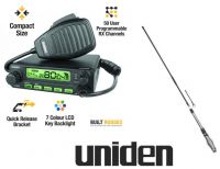 UNIDEN UH5045 80CH 5W UHF RADIO+50 USER PROG CHANNELS FREE POST