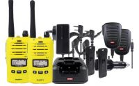GME TX6160YTP YELLOW TWIN UHF RADIO 5W 80CH WATERPROOF TRADIE HA