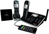 UNIDEN XDECT 8155+1 1.8GHZ DIGITAL CORDLESS PHONE 2 HANDSETS