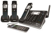 UNIDEN XDECT 8355+2 1.8GHZ DIGITAL CORDLESS PHONE 3 HANDSETS