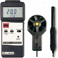 AM-4205A Lutron Anemometer with Humidity & Temperature