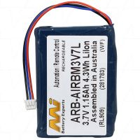 AUTEC ARB-AIRBM3V7L CRANE REMOTE COMPATIBLE BATTERY