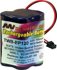 Uniden Bp120 Bp180 Replacement Battery Bp120 Bp180 Au