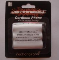 LIGHTNINGCELL P-P508 P-P510 BATTERY FOR PANASONIC CORDLESS PHONE