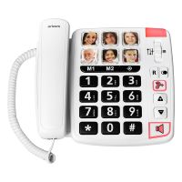 ORICOM CARE80S BIG BUTTON AMPLIFIED SPEAKERPHONE WITH PICTURE DI