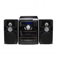 LENOXX CD7400N BLACK HOME ENTERTAINMENT SYSTEM HI-FI WITH CD PLA