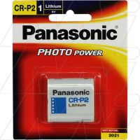 Panasonic Lithium Battery CR-P2-BP1
