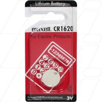CONSUMER LITHIUM LITHIUM BATTERY COIN CELL CR1620 BATTERY