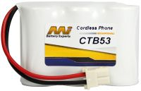 AUDIOLINE CORDLESS PHONE REPLACEMENT BATTERY CTB53