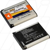 SAMSUNG DIGITAL CAMERA DCB-BP70A-BP1 BATTERY