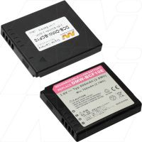 Battery to suit panasonic DMW-BCF10 digital camera 3.6v 770mah