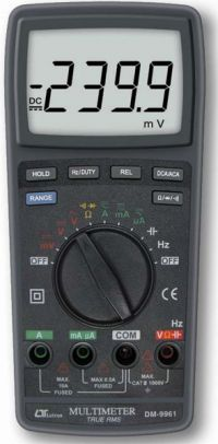 TRUE RMS DIGITAL MULTIMETER - DM9961