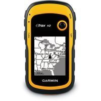 "GARMIN E TREX 10 RUGGED WATERPROOF GPS RECEIVER 2.2"" SCREEN"