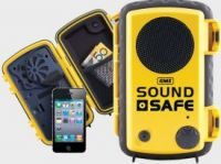 GME SoundSafe plus Protective Waterproof Case Yellow Model