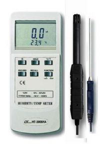 HT3006HA Lutron Humidity Meter Type K Thermometer