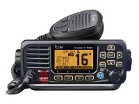 ICOM IC-M330GE BLACK FIXED MOUNT VHF/DSC MARINE RADIO WITH INTER