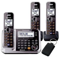 PANASONIC KX-TG7893AZS TRIPLE CORDLESS PHONE+ANSWER MACHINE