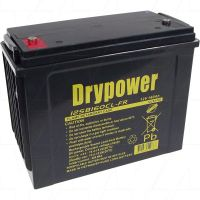 DRYPOWER 12SB160CL-FR 12V SEALED LEAD ACID BATTERY