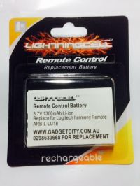 LOGITECH ARB-L-LU18 HARMONY REMOTE CONTROL REPLACEMENT BATTERY