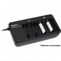 POWERTECH MB3514 NIMH/NICD CHARGER AA AAA C D 9B BATTERIES