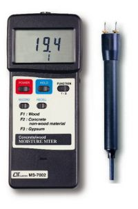 LUTRON CONCRETE AND WOOD MOISTURE METER MS7002