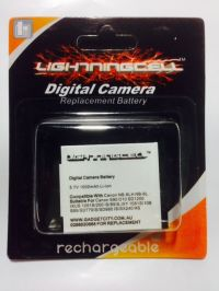 CANON DIGITAL IXUS 105IS DCB-NB6L NB-6LH CAMERA BATTERY