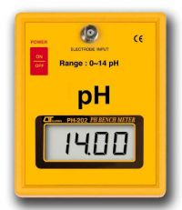 PH BENCH METER - PH202 lutron ph measurement