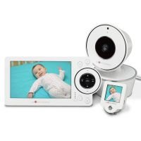 "PROJECT NUSERY PNM5W01 5"" HD VIDEO BABY MONITOR WITH MINI MONITO"