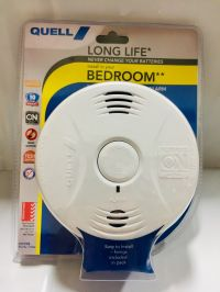 QUELL Q10YB LONG LIFE BEDROOM AREA SMOKE ALARM 10 YR WTY BATTERY