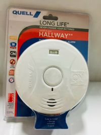 QUELL Q10YHL LONG LIFE HALLWAY / LIVING SMOKE ALARM BATTERY OPER