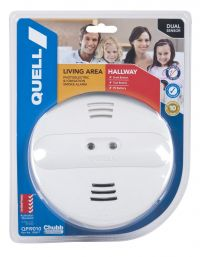 QUELL Living Area and Hallway Dual Sensor Ionisation / Photoelec
