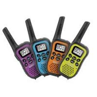 UNIDEN UH45-4 UHF HANDHELD RADIOS 80 CHANNEL 0.5W 1/2 QUAD COLOU