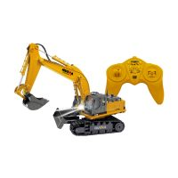 Remote Controlled Excavator With Rechargeable batt+charger Kit