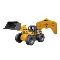 REMOTE CONTROLLED 6 CHANNEL RC BULLDOZER