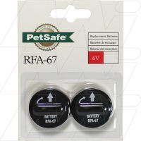 Dog Collar Bark Control Battery RFA-67D