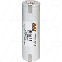 SHB11 BAUSCH&LAUMB KRUPPS REMINGTON REPL BATTERY