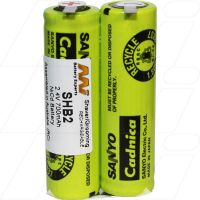 SHB2 PHILIPS 2.4V 700MAH 1 SIDE JOINED 1 SIDE NOT BATTERY