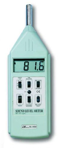 LUTRON SL4022 SOUND LEVEL METER DIGITAL