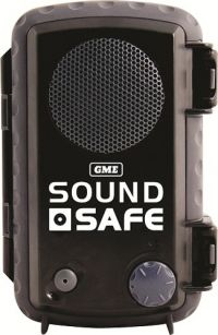 GME Sound Safe Protective Waterproof Case BLACK Model