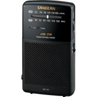 SANGEAN SR-35 FM–STEREO / AM HANDHELD RECEIVER WITH BUILT-IN SPE