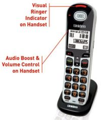 UNIDEN SSE06 OPTIONAL VISUAL & HEARING IMPAIRED HANDSET PHONE