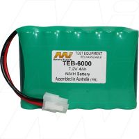 Riser Bond 6000, 6000 XDSL, 6000 CTS STD (TEB-6000) BATETRY