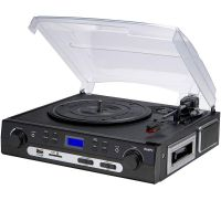LENOXX VINYL TURNTABLE RECORD TT600 CASSETTE PLAYER RECORDER