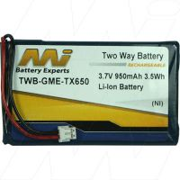 GME BP008 TX650 REPLACEMENT BATTERY