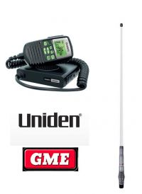 UNIDEN UH5060NB UHF RADIO+GME AE4705 ANT PACK