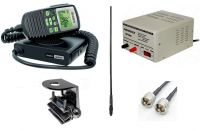 UNIDEN UH5060 5W 80CH RADIO HOME BASE KIT AT890BK ANT BASE KIT