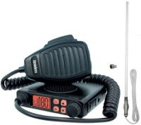 UNIDEN UH7700 NB RADIO AND CH5T WHITE UHF ANTENNA PACK CARS 4WD