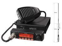 ORICOM DETACHABLE UHF180 80CH UHF RADIO+AT880 6.6DBi ANTENNA