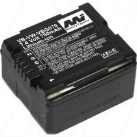 Battery To suit Panasonic vb-vw-vbg070 camera camcorder